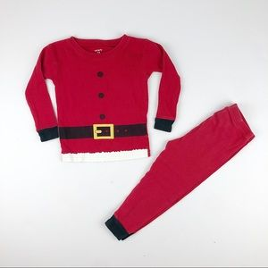 5 for $35 Carter's Santa Clause pajama set size 2T